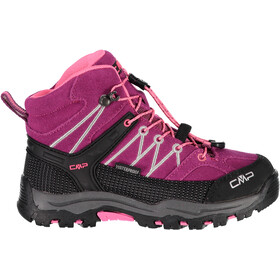 CMP Campagnolo Rigel WP Mid Trekking Shoes Kids berry-pink fluo